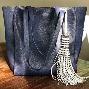 Vince Camuto Pebbled Leather Tote